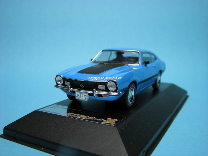 Ford Maverick GT 1974 light blue 1:43 Premium X